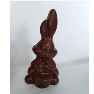 Chocolade paashaas kokosbloesemsuiker