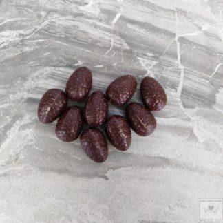 chocolade praliné paaseitjes met kokosbloesemsuiker
